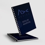Logo and corporate identity design manual